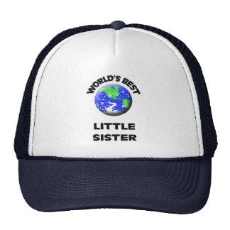 World's Best Little Sister Cap