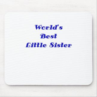 Worlds Best Little Sister Mousepads