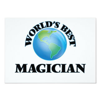 World's Best Magician Cards