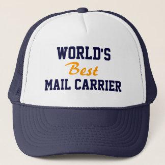 World's best mail carrier cap
