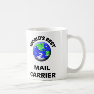World's Best Mail Carrier Mugs