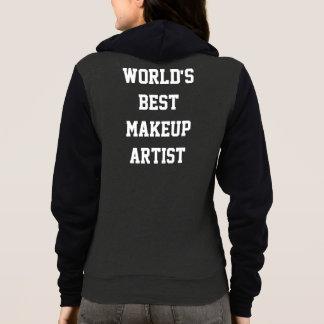 World's best makeup artist hoodie