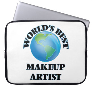 World's Best Makeup Artist Computer Sleeve