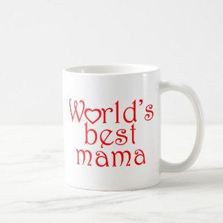 World's best mama coffee mug