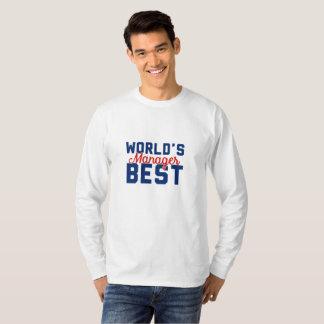 World's Best Manager T-Shirt