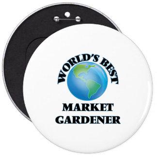World's Best Market Gardener Button