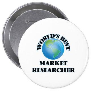 World's Best Market Researcher Pin