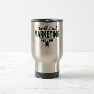 World's Best Marketing Major Stainless Steel Travel Mug