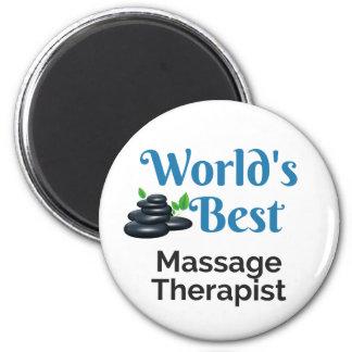 World's Best massage therapist Magnet