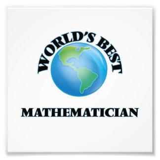 World's Best Mathematician Photograph