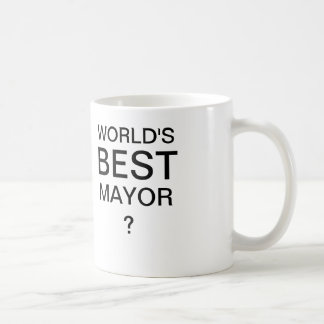 WORLD'S BEST MAYOR Coffee Mug