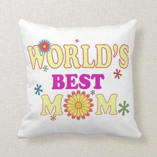 World's Best Mom Cushions