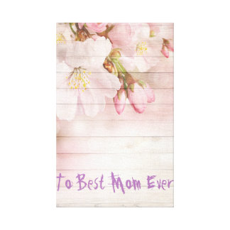 World's Best Mom Ever  Canvas Print