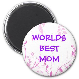 Worlds best Mom fridge magnet
