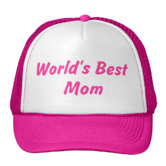 World's Best Mom Hat