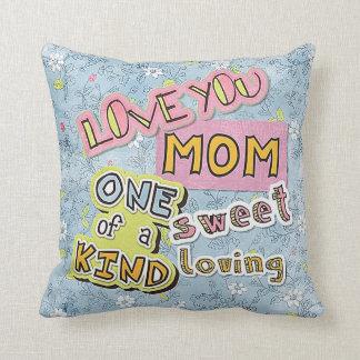 World's Best Mom I Love You Cushion
