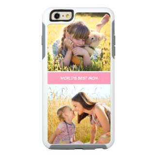 World's Best Mom Mothers Day Gift Custom Photos OtterBox iPhone 6/6s Plus Case