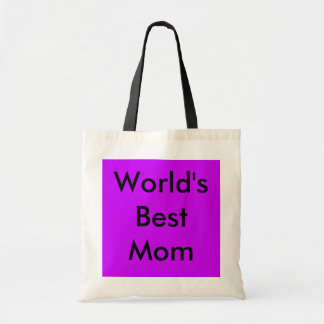 World's Best Mom Tote Budget Tote Bag