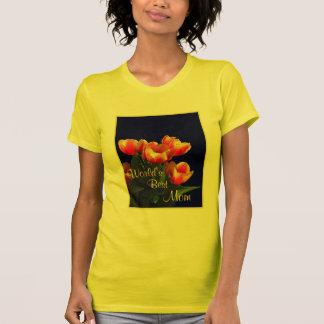 World's Best Mom Tulip T-Shirt