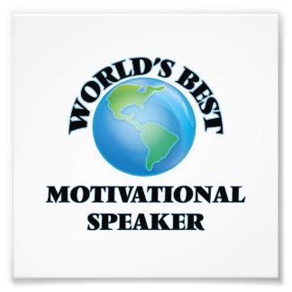 World's Best Motivational Speaker Art Photo