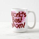 World's BEST Mum! Basic White Mug