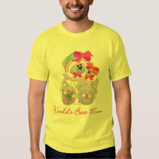 World's Best Mum (bears) Tshirts