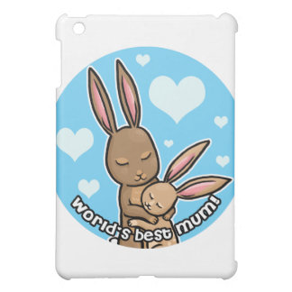 Worlds best Mum Bunny iPad Mini Cases