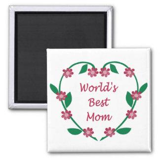 World's Best Mum magnet