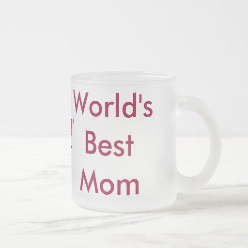 World's Best Mum Mug (with heart)