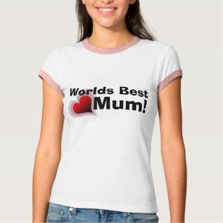 Worlds Best Mum t-shirt -  Customisable