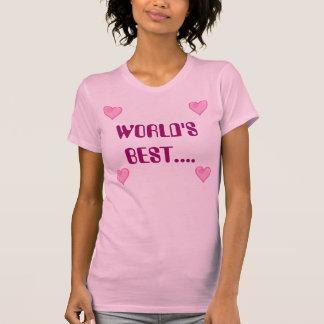 world's best mum top t shirt