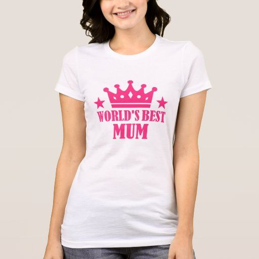 World's Best Mum T-shirt