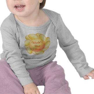World's Best Mum (yellow flower) Tee Shirts