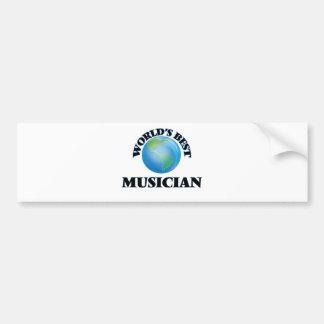 World's Best Musician Bumper Sticker