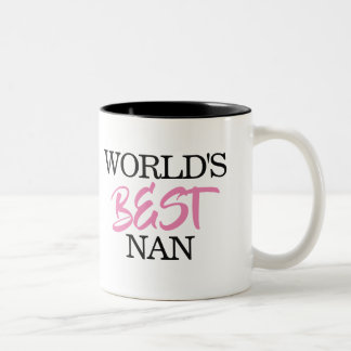 World's BEST Nan mug