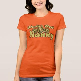 Worlds best nanny T-Shirt