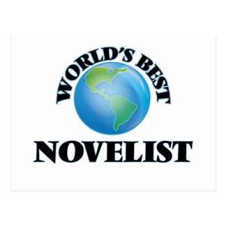 World's Best Novelist Postcard