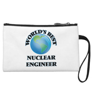 World's Best Nuclear Engineer Wristlet Clutch
