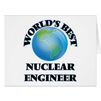 World's Best Nuclear Engineer Card