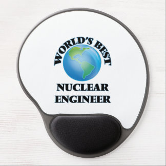 World's Best Nuclear Engineer Gel Mouse Mats