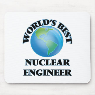 World's Best Nuclear Engineer Mousepad