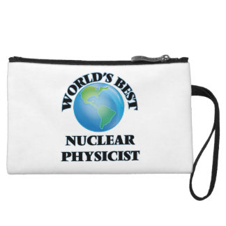 World's Best Nuclear Physicist Wristlet Purses
