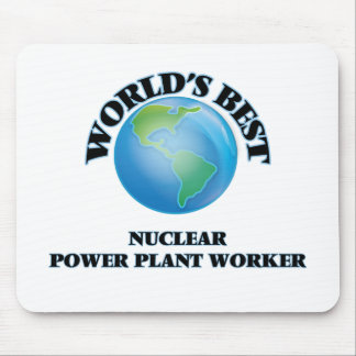 World's Best Nuclear Power Plant Worker Mouse Pad