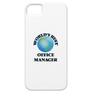 World's Best Office Manager iPhone 5 Case