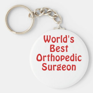 Worlds Best Orthopedic Surgeon Key Ring