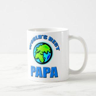 World's Best Papa Basic White Mug