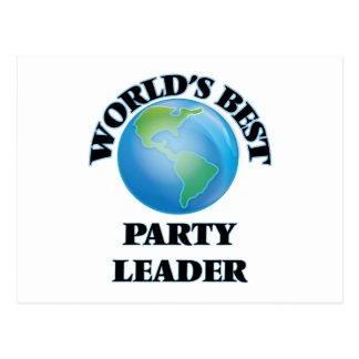 World's Best Party Leader Postcards