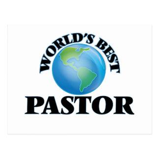 World's Best Pastor Postcard