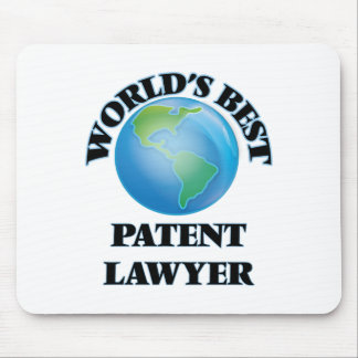 World's Best Patent Lawyer Mouse Pads
