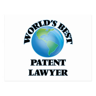 World's Best Patent Lawyer Post Cards